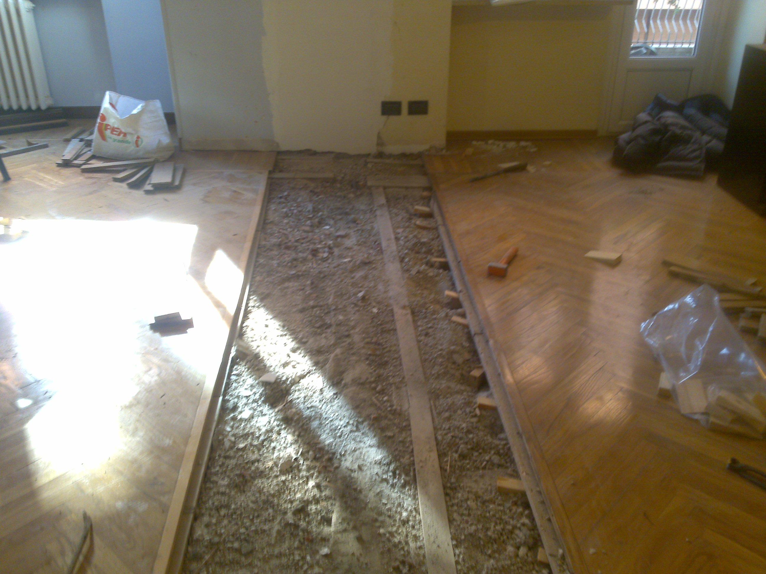 Pavimento da abbinare al parquet. latest pavimenti in parquet di