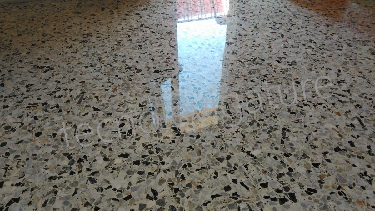 Pavimento in graniglia di marmo materiali da inserto zanfi